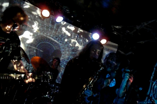 SaucerWind playing a Hawkwind tribute show at This Ain't Hollywood