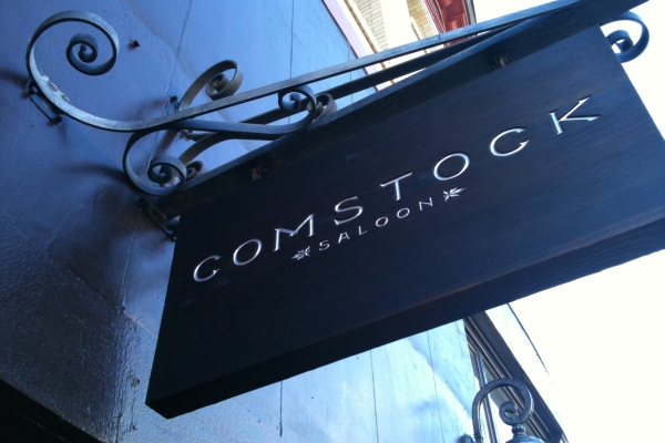 Comstock Saloon in San Francisco. Photo courtesy of Molly Schoneveld.