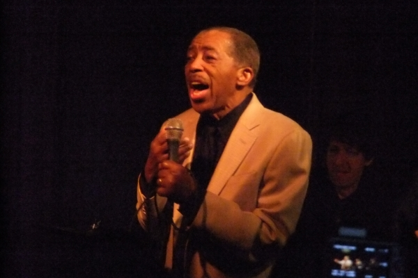 Ben E. King performing at Scullers Jazz Club. Photo courtesy Protest Photos1.