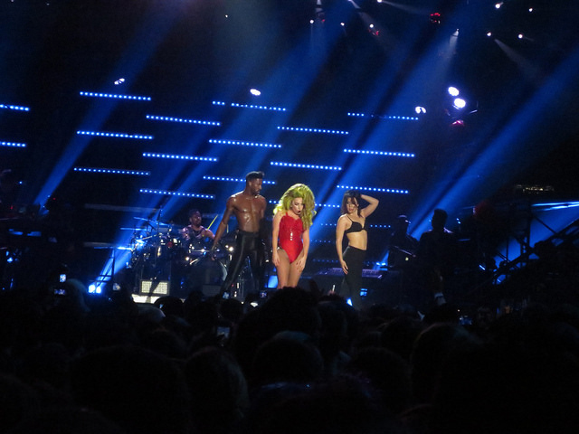 Lady Gaga at the Roseland Ballroom, New York, 04/07/2014